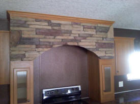 KITCHEN ARCH CANYON WALL MESQUITE
