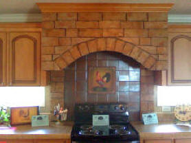 STONE KITCHEN ARCH