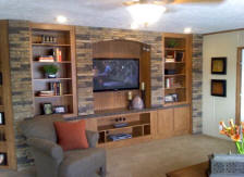 4pc Southern Ledge Entertainment Center