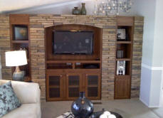 4pc Canyon Wall Buff and Tenn. Entertainment Center