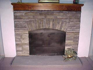 Appalachian Surround With Georgian Mantel