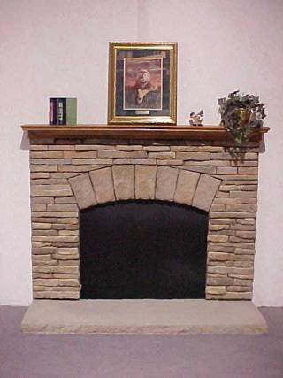 Calico 7 Fieldkey With Crown Mantel