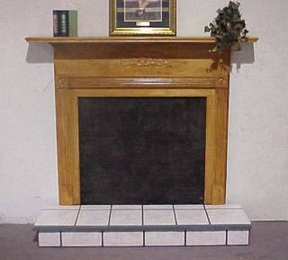 Plantation With Raised Tile Hearth